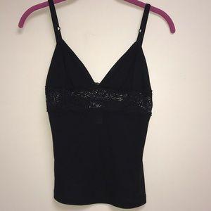Dolce & Gabbana Black Lace Cami